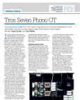 HiFi News Tron Seven GT March 2013